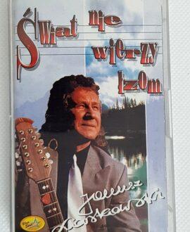 JANUSZ LASKOWSKI ŚWIAT NIE WIERZY ŁZOM audio cassette