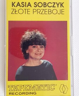 KASIA SOBCZYK ZŁOTE PRZEBOJE audio cassette