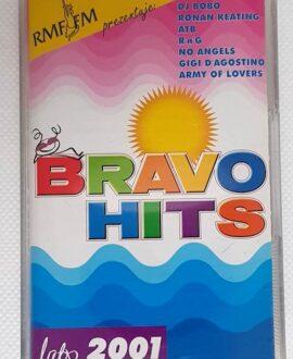 BRAVO 2001 SUMMER GIGI D'AGOSTINO, DJ BOBO.. audio cassette