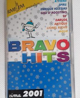 BRAVO 2001 ZIMA GIGI D'AGOSTINO, DARUDE..audio cassette