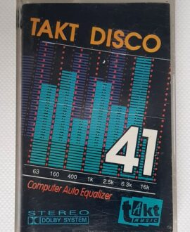 TAKT DISCO 41 B-BOY, GEORGE MICHAEL...audio cassette