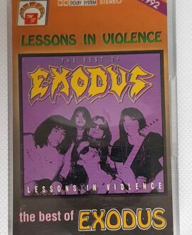 EXODUS LESSONS IN VIOLENCE - THE BEST OF audio cassette