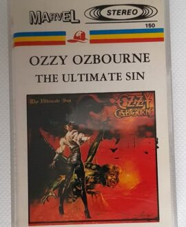 OZZY OSBOURNE THE ULTIMATE SIN audio cassette