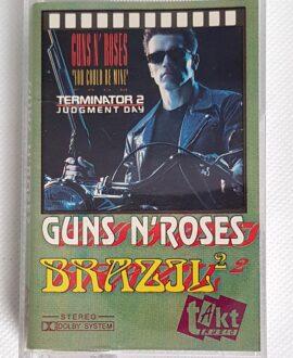 GUNS'N'ROSES TERMINATOR BRAZIL vol.2 audio cassette
