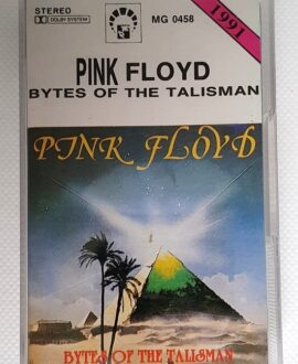 PINK FLOYD BYTES OF THE TALISMAN audio cassette