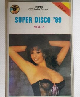 SUPER DISCO '89 BAD BOYS BLUE, MARTIKA..audio cassette