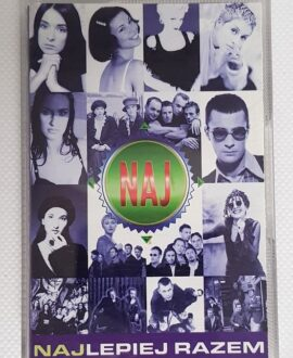 NAJLEPIEJ RAZEM VARIUS MANX, DE MONO..audio cassette