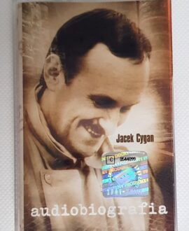 JACEK CYGAN AUDIOBIOGRAFIA audio cassette
