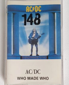 AC/DC WHO MADE WHO audio cassette