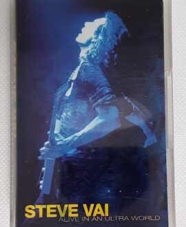STEVE VAI ALIVE IN AN ULTRA WORLD audio cassette
