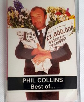 PHILL COLLINS BEST OF...audio cassette