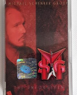 MICHAEL SCHENKER GROUP THE UNFORGIVEN audio cassette