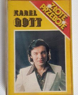 KAREL GOTT ZŁOTE PRZEBOJE audio cassette