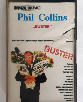 PHIL COLLINS BUSTER audio cassette