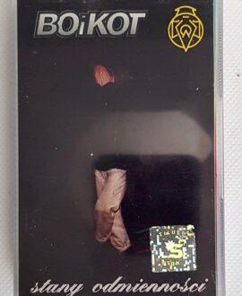 BOiKOT STANY ODMIENNOŚCI audio cassette