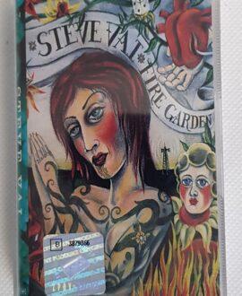 STEVE VAI FIRE GARDEN audio cassette