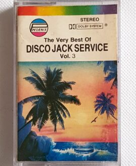 DISCO JACK SERVICE vol.3 THE HURRICANES, MAURO... audio cassette