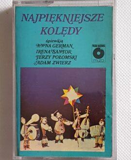 NAJPIĘKNIEJSZE KOLĘDY GERMAN, SANTOR...audio cassette