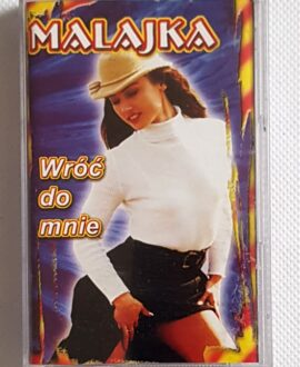 MALAJKA WRÓĆ DO MNIE  disco polo audio cassette