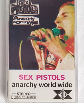 SEX PISTOLS ANARCHY WORLD WIDE audio cassette