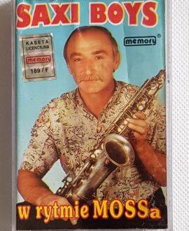 SAXI BOYS W RYTMIE MOSSA audio cassette