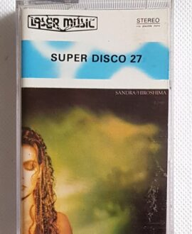 SUPER DISCO 27 SANDRA, KYLIE MINOGUE.. audio cassette