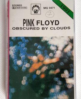 PINK FLOYD OBSCURED BY CLOUDS audio cassette