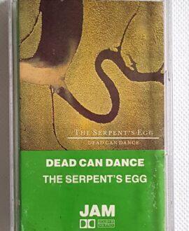 DEAD CAN DANCE THE SERPENT'S EGG audio cassette