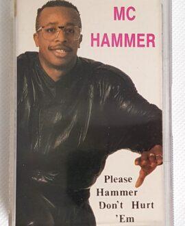 MC HAMMER PLEASE HAMMER DON'T HURT 'EM kaseta audio
