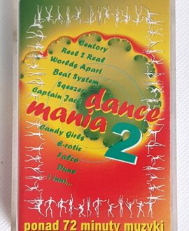 DANCE MANIA 2 REAL TO REAL, FALCO..audio cassette