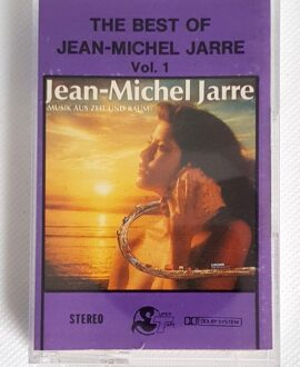 JEAN MICHEL JARRE THE BEST OF vol.1 audio cassette