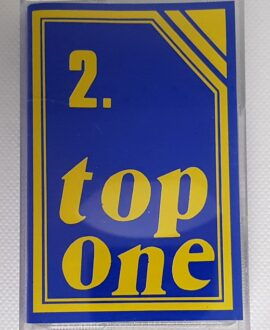 TOP ONE BEST vol.2 audio cassette