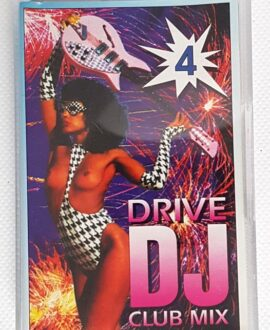 DJ DRIVE CLUB MIX SNAP, SALT'N PEPA..audio cassette