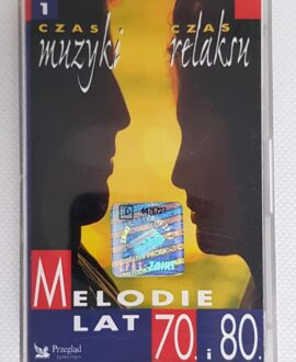 MELODIE LAT 70,80' vol.1 DON'T CRY FOR ME ARGENTINA. audio cassette