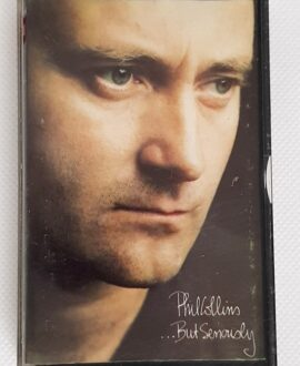 PHIL COLLINS ...BUT SERIOUSLY audio cassette