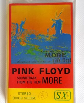 PINK FLOYD SOUNDTRACK FROM THE FILM MORE audio cassette