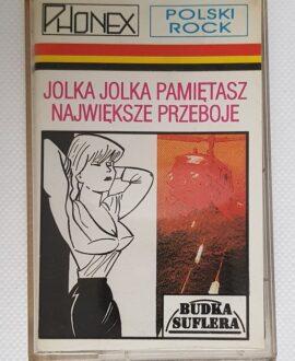 BUDKA SUFLERA JOLKA JOLKA PAMIETASZ NAJWIĘKSZE PRZEBOJE audio cassette