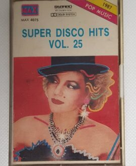 SUPER DISCO HITS MADE IN ITALY MIX audio cassette