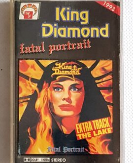 KING DIAMOND FATAL PORTRAIT audio cassette