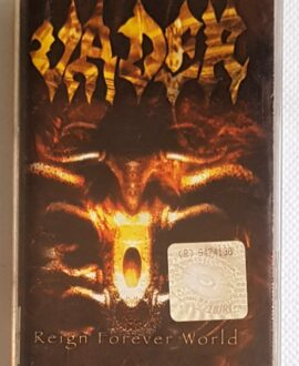 VADER REIGN FOREVER WORLD audio cassette