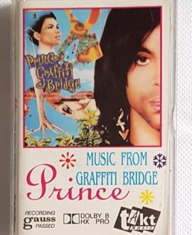 PRINCE MUSIC FROM GRAFFITI BRIDGE audio cassette