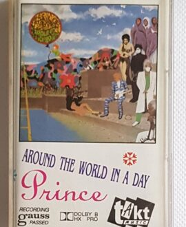 PRINCE AROUND THE WORLD IN A DAY audio cassette
