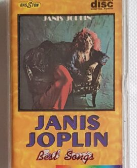 JANIS JOPLIN BEST SONGS audio cassette