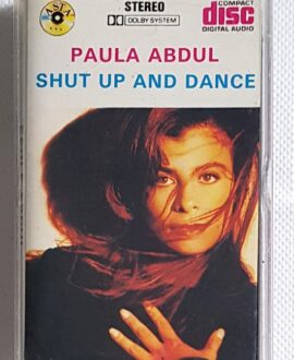 PAULA ABDUL SHUT UP AND DANCE audio cassette