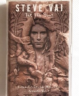 STEVE VAI THE 7TH SONG audio cassette