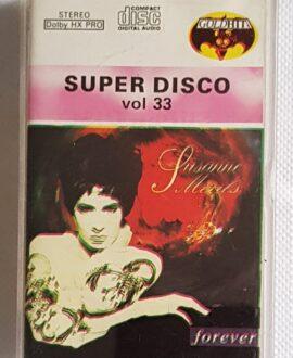 SUPER DISCO vol.33 MXM, VIRGIN..audio cassette