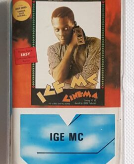 ICE MC EASY, CINEMA...audio cassette