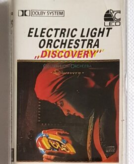 ELECTRIC LIGHT ORCHESTRA DISCOVERY audio cassette