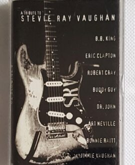A TRIBUTE TO STEVIE RAY VAUGHAN B.B. KING, ERIC CLAPTON..audio cassette