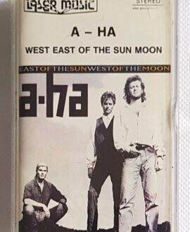A-HA WEST EAST OF THE SUN MOON audio cassette